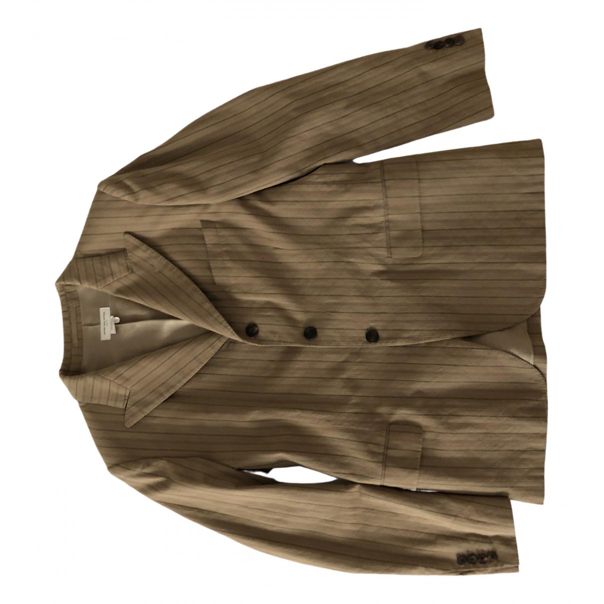 Dries Van Noten \N Beige Cotton Suits for Men 52 IT