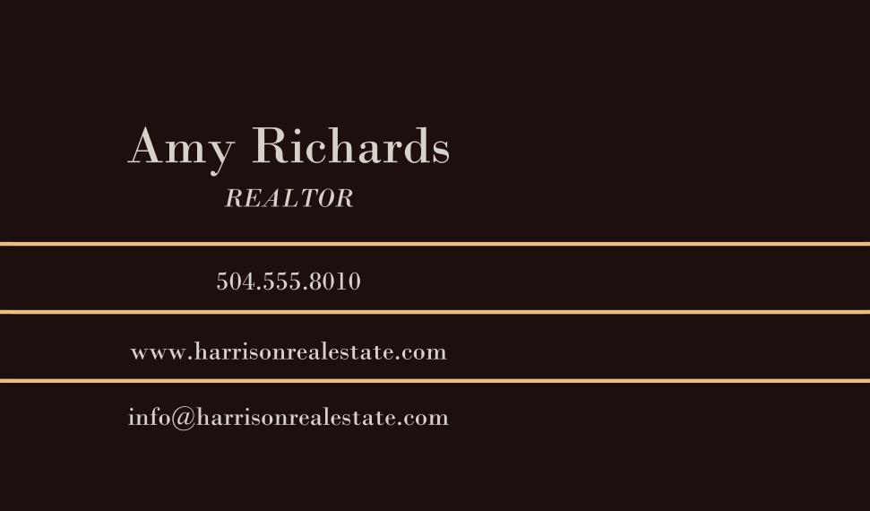 Residential & Commercial Business Cards, Set of 40, Silk, Card & Stationery -Elegant Marble Real Estate