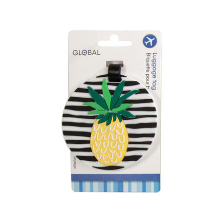 Hip Luggage Tag Global 1 Pc - Style 01