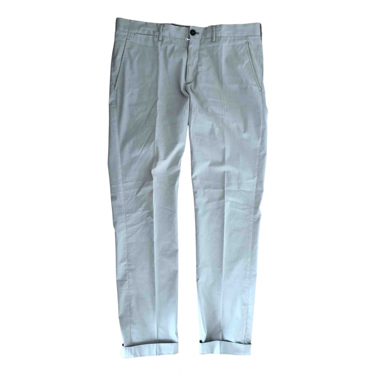 Prada \N Beige Trousers for Men 50 IT