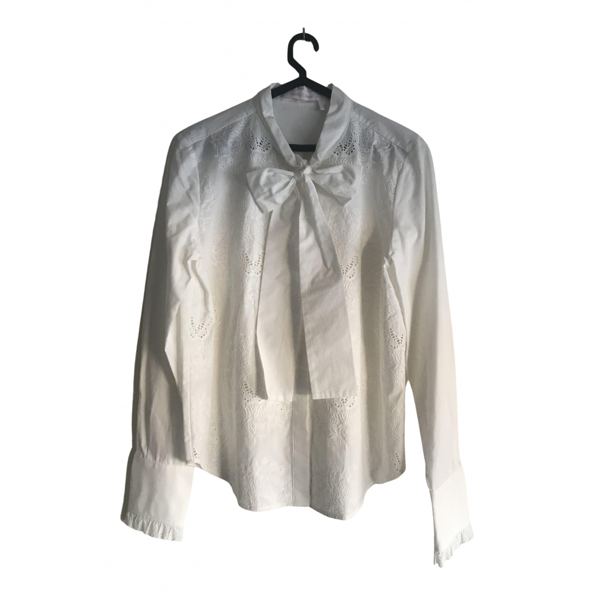 See By Chloé \N White Cotton  top for Women 40 FR
