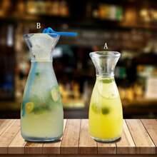1pc Acrylic Juice Bottle