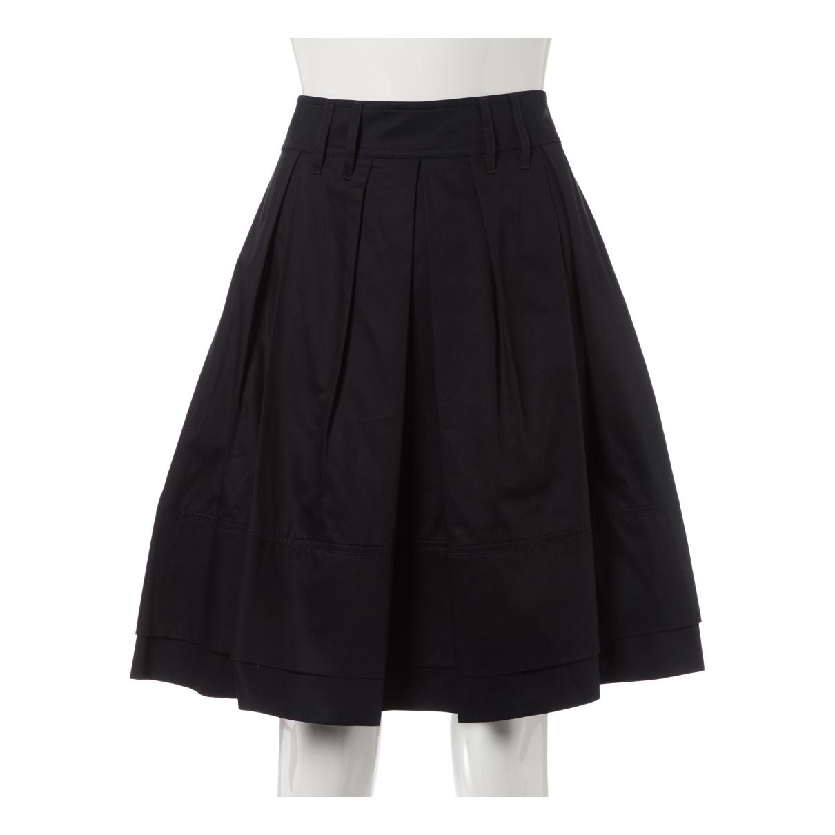 Jacquemus \N Black Cotton skirt for Women 40 FR