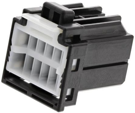 TE Connectivity , MULTILOCK 040 II Male Connector Housing, 2.5mm Pitch, 12 Way, 2 Row