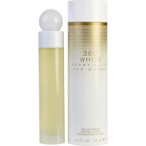 Perry Ellis - Perry Ellis 360 White : Eau de Parfum Spray 3.4 Oz / 100 ml
