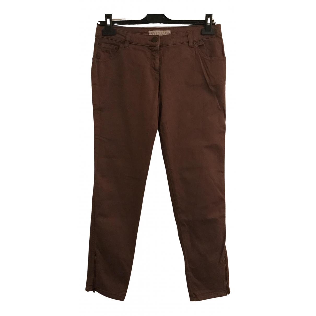 Stella Mccartney \N Denim - Jeans Trousers for Women 42 IT