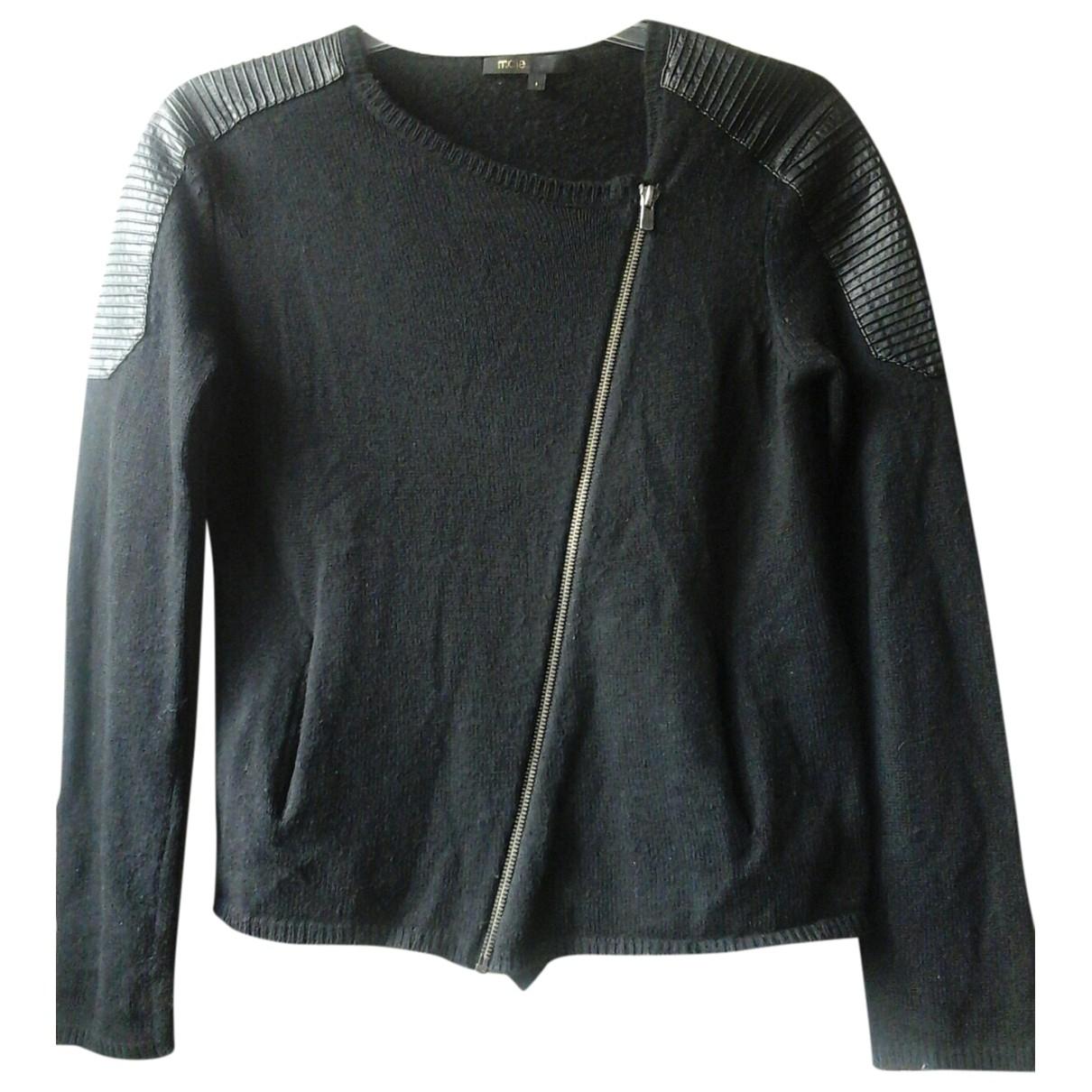 Maje \N Black Wool Knitwear for Women 1 0-5