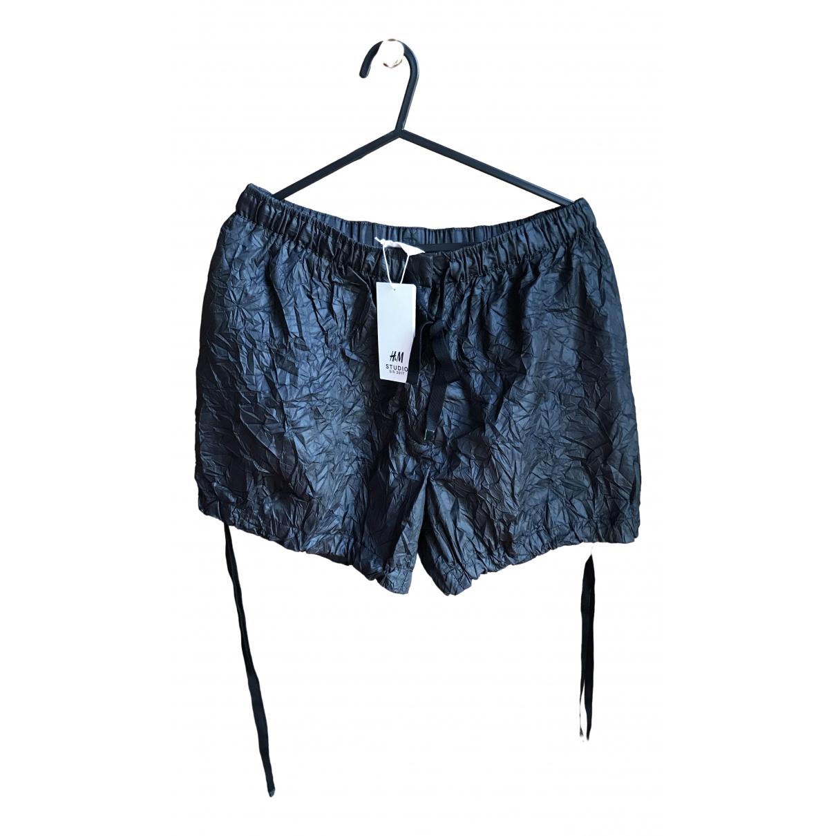 H&m Studio \N Black Shorts for Women 36 FR