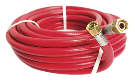RS PRO Air Hose Red PVC Nitrile Blend 15mm x 20m