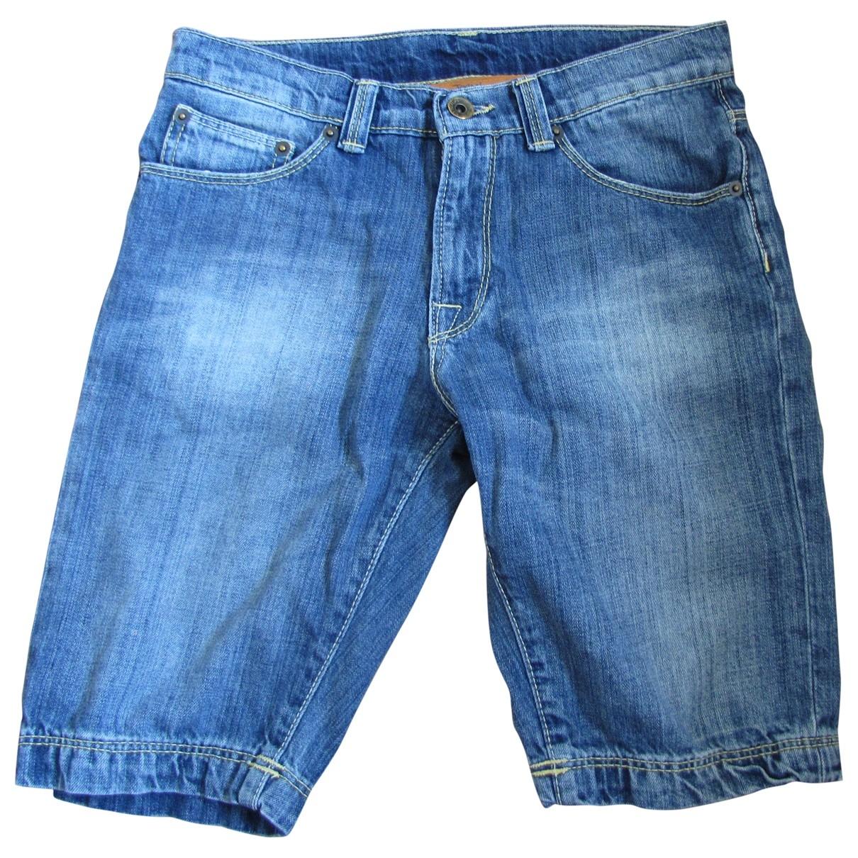 Napapijri \N Blue Cotton Shorts for Kids 14 years - S FR