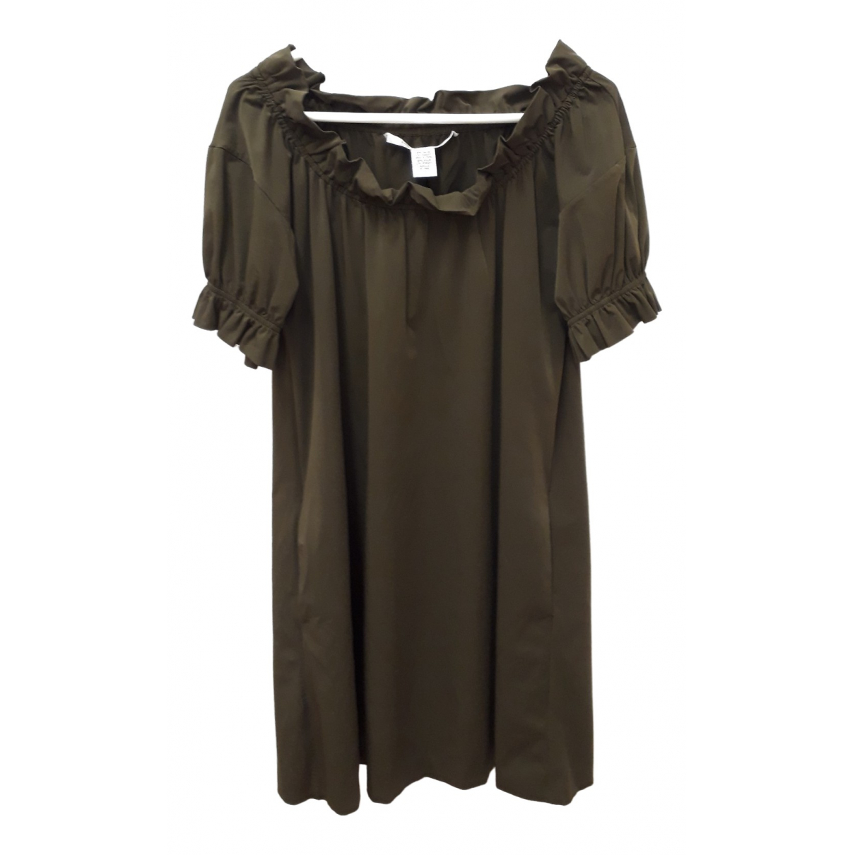 Diane Von Furstenberg \N Khaki dress for Women 2 US