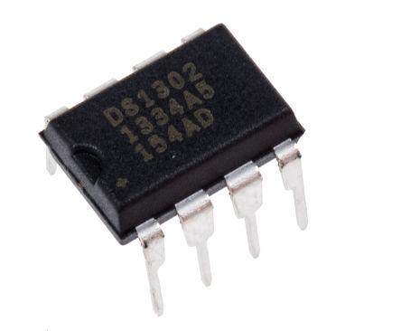 Maxim Integrated Maxim DS1302+, Real Time Clock (RTC), 31B RAM Serial, 8-Pin PDIP