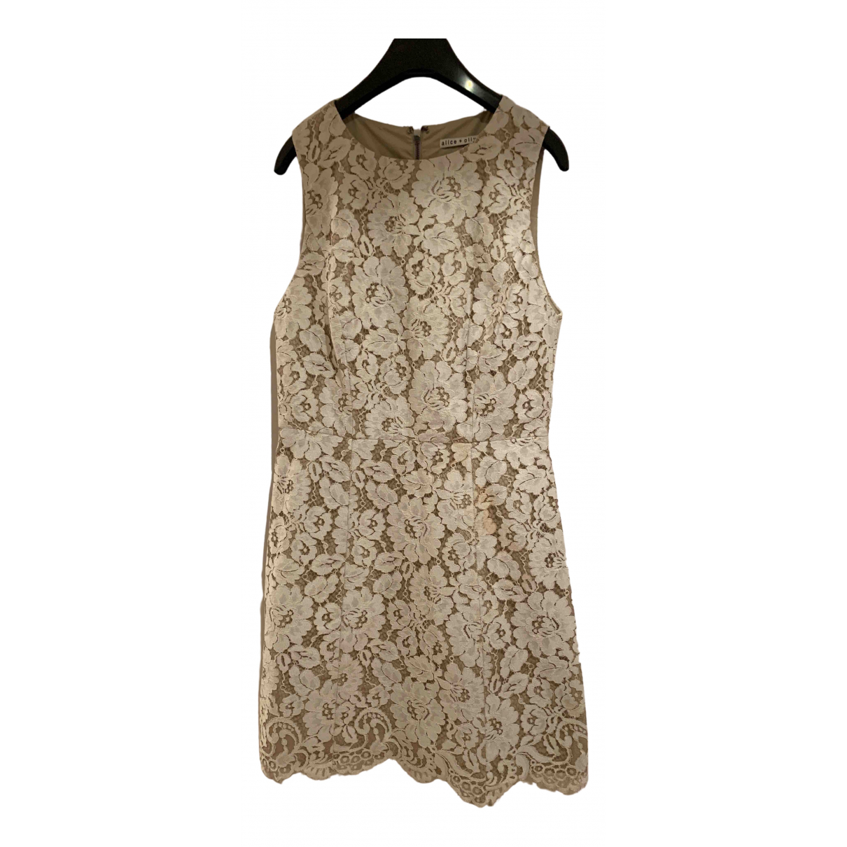 Alice & Olivia \N Lace dress for Women 8 US