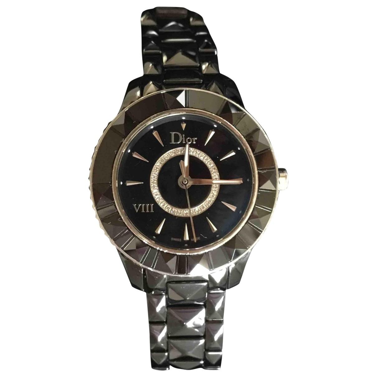 Dior Dior VIII Black Ceramic watch for Women \N