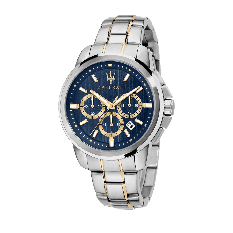 Maserati Men's Successo? R8873621016 Silver Stainless-Steel Quartz Dress Watch