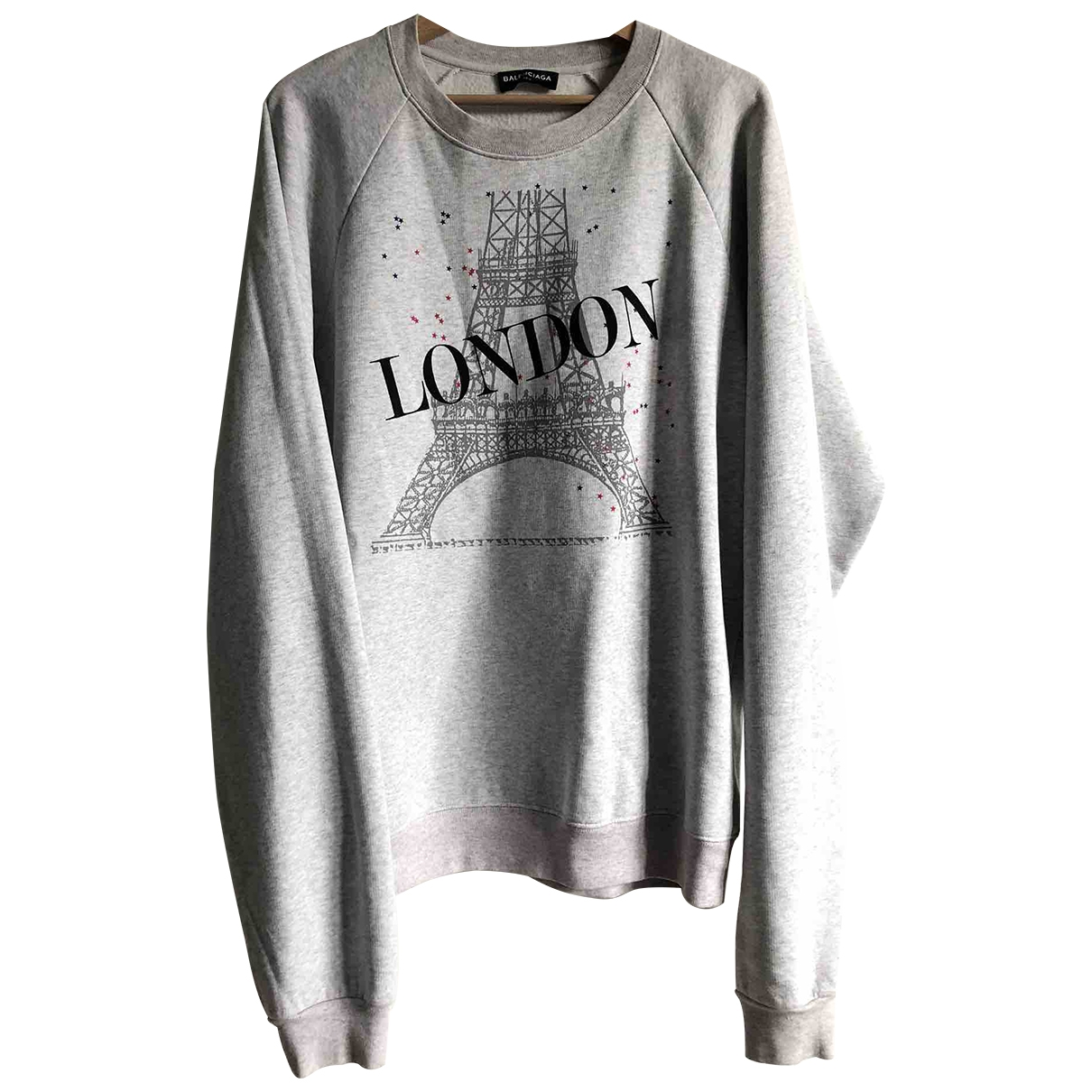 Balenciaga \N Grey Cotton Knitwear & Sweatshirts for Men M International