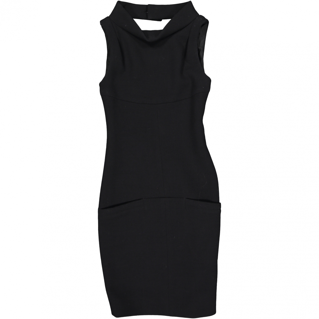 Chanel \N Black Wool dress for Women 34 FR
