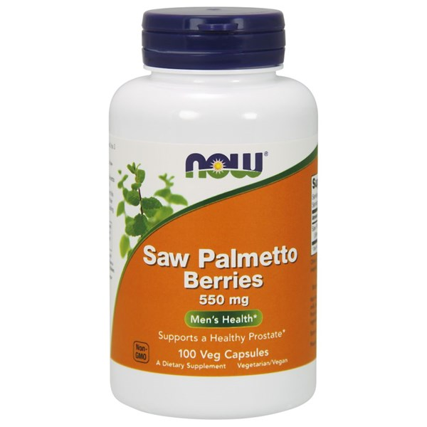 Saw Palmetto Berries 100 Caps by Now Foods