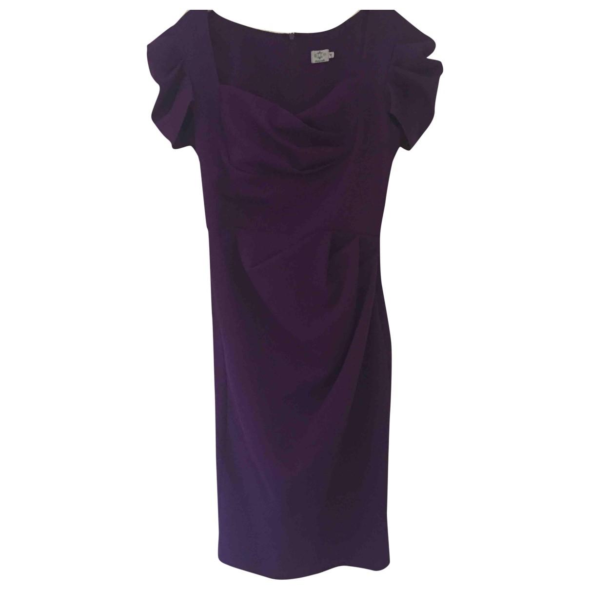 Non Signé / Unsigned \N Purple dress for Women M International