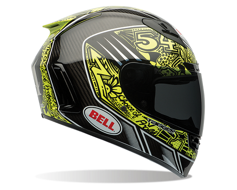Bell Racing 7061586 Star Carbon Tagger Trouble Replica Helmet 54-55 | XS
