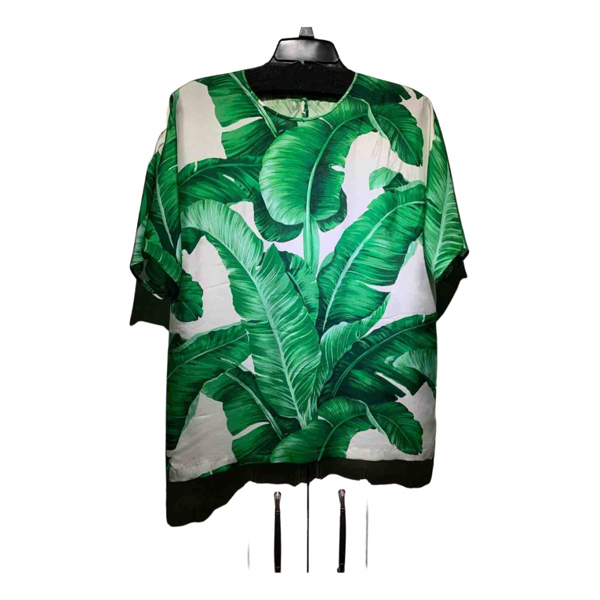 Dolce & Gabbana \N Multicolour Silk  top for Women 42 IT