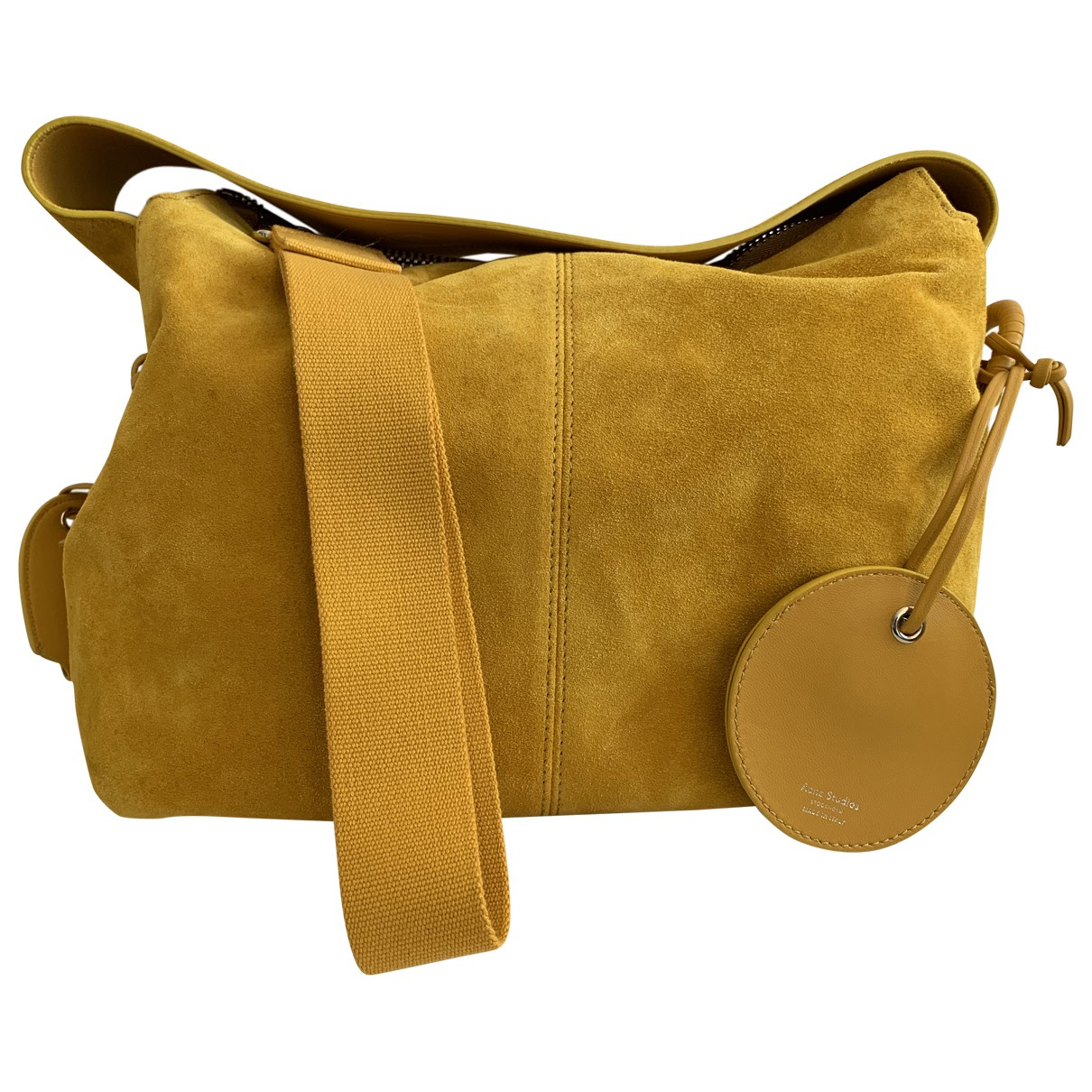 Acne Studios \N Yellow Suede Clutch bag for Women \N