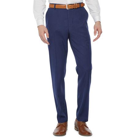 JF J.Ferrar Mens Super Slim Fit Suit Pants, 33 32, Blue