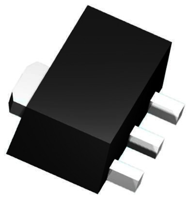 Texas Instruments , 6.2 V Linear Voltage Regulator, 100mA, 1-Channel, ±5% 3-Pin, SOT-89 UA78L06ACPK (10)