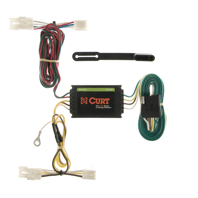 Curt 55309 Custom Wiring Harness (4-Way Flat Output)