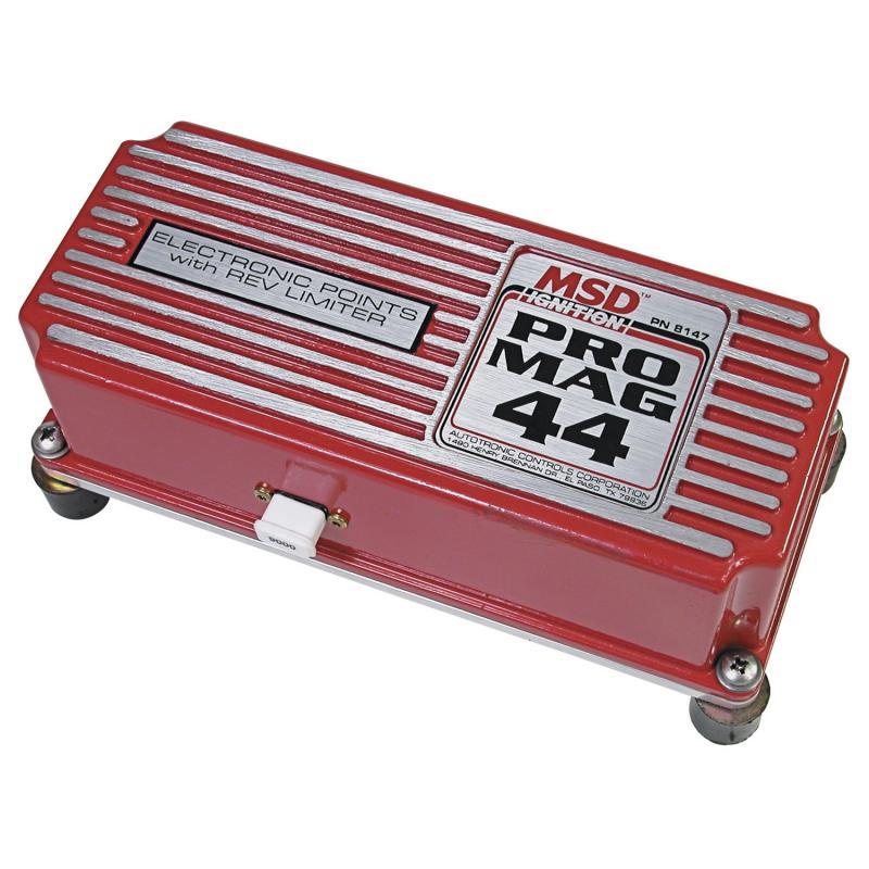 MSD Electronic Pts Box; 44 Amp Pro Mag; Rev Limiter