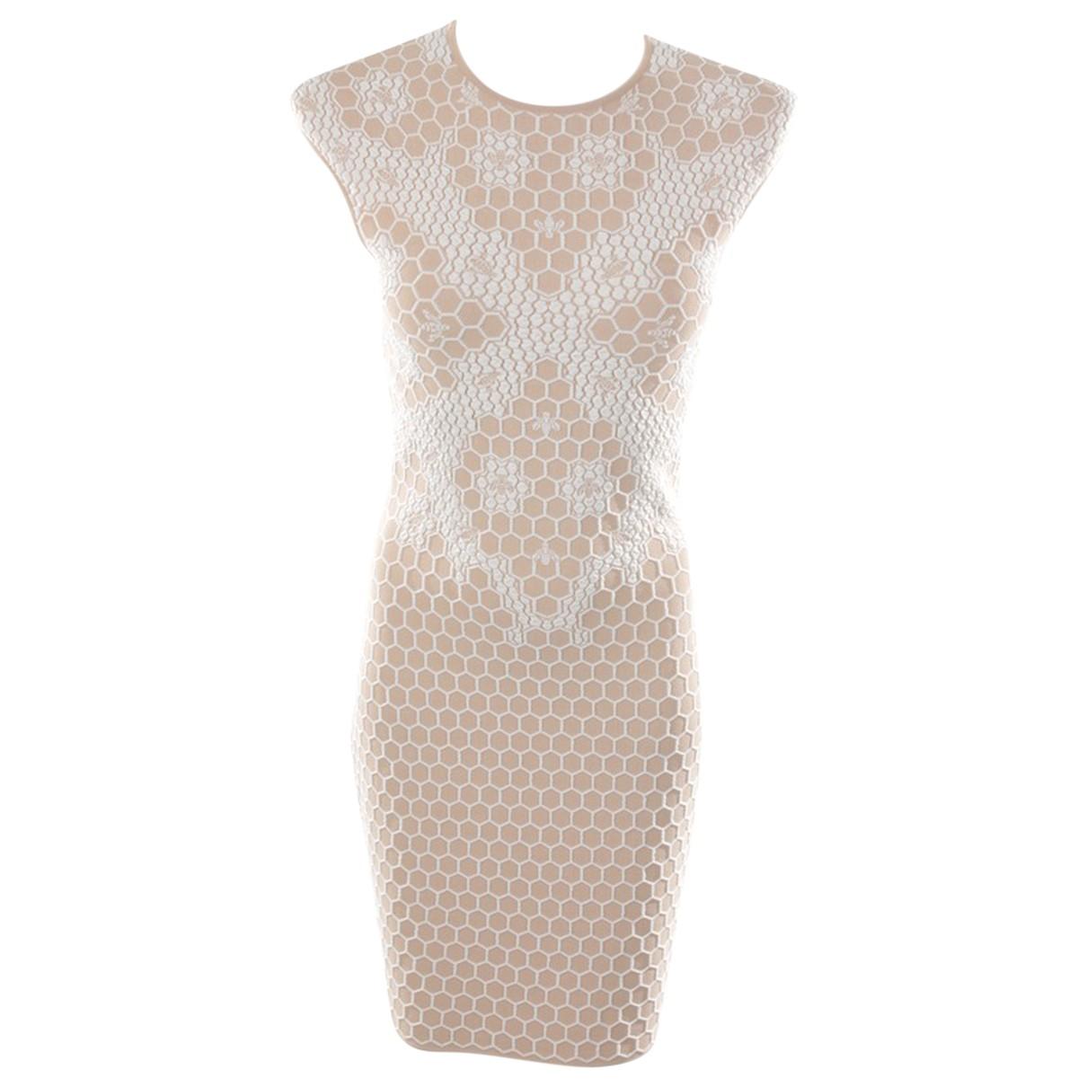 Alexander Mcqueen \N Beige dress for Women M International