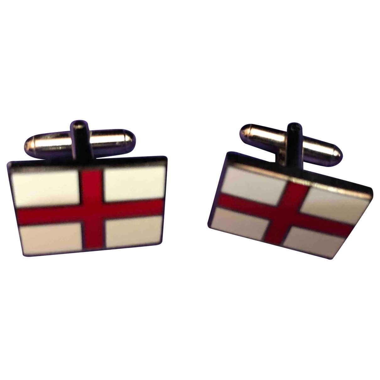 Non Signé / Unsigned \N Multicolour Metal Cufflinks for Men \N