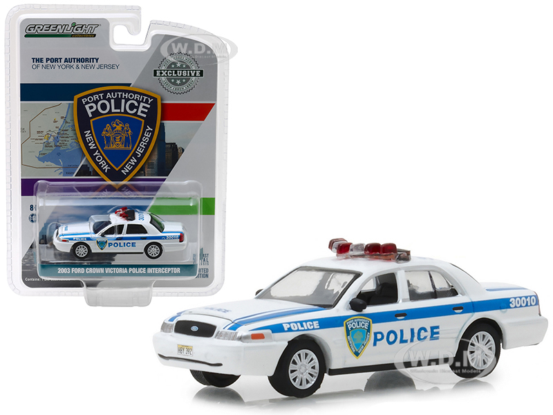 2003 Ford Crown Victoria Police Interceptor Port Authority of New York & New Jersey Police