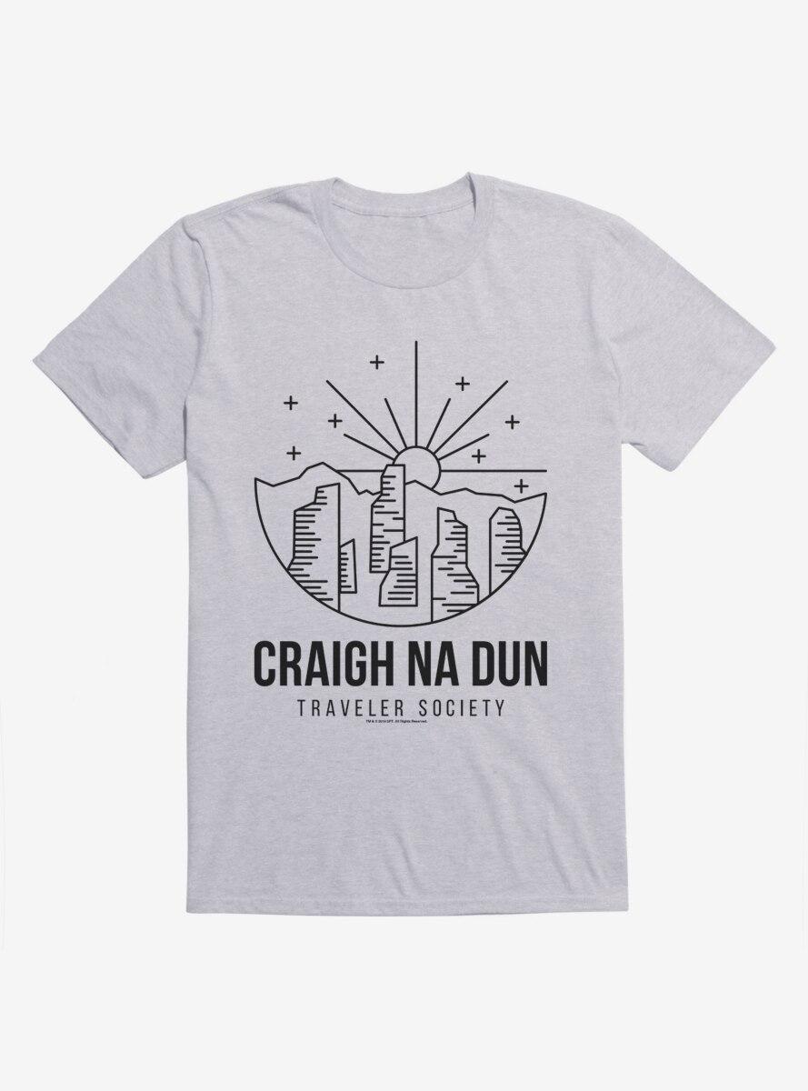 Outlander Craigh Na Dun Society Emblem T-Shirt