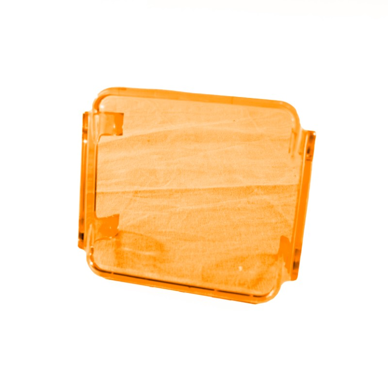 Race Sport Lighting RS-3X3C-A Amber Translucent 3x3in Protective Spotlight Cover
