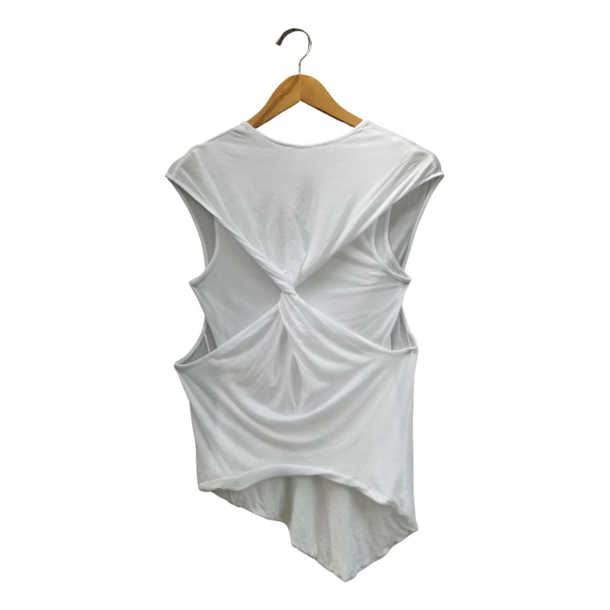 Helmut Lang \N White Cotton  top for Women S International
