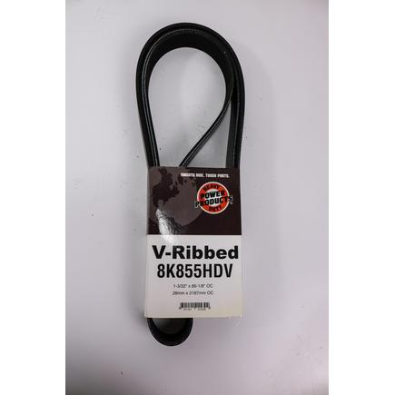Power Products 8K855HDV - V Belt For 2008 05 Freightliner, Columbia...
