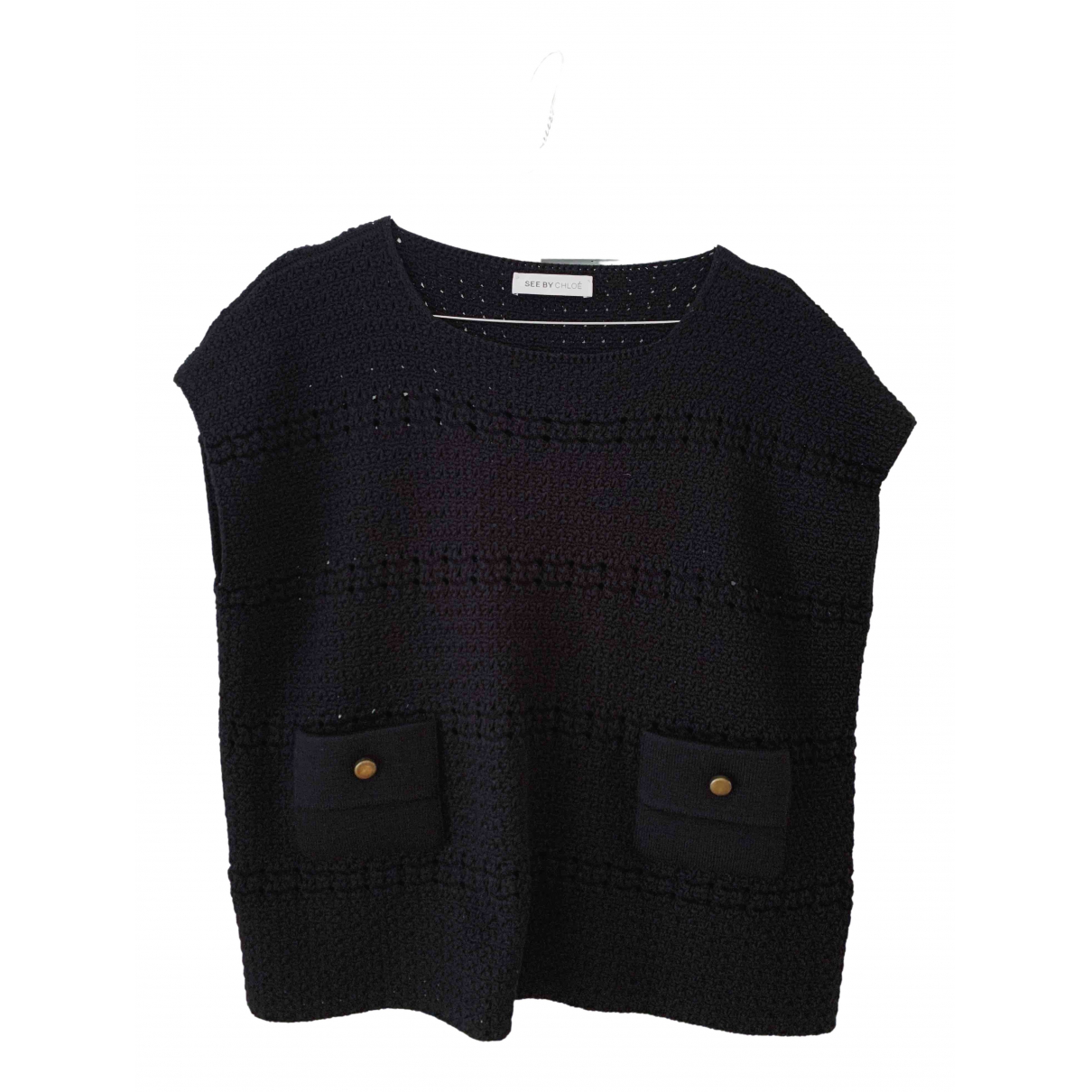 See By Chloé \N Black Cotton  top for Women 36 FR