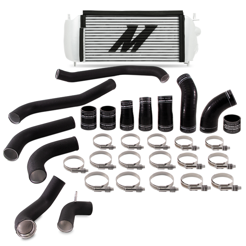 Mishimoto MMINT-F35T-17KBSL Performance Intercooler Kit ( Silver Cooler Black Pipes) Ford F-150 | Mustang Ecoboost 2017+