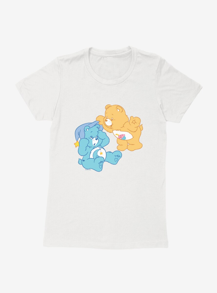 Care Bears Birthday And Bedtime Bears Womens T-Shirt