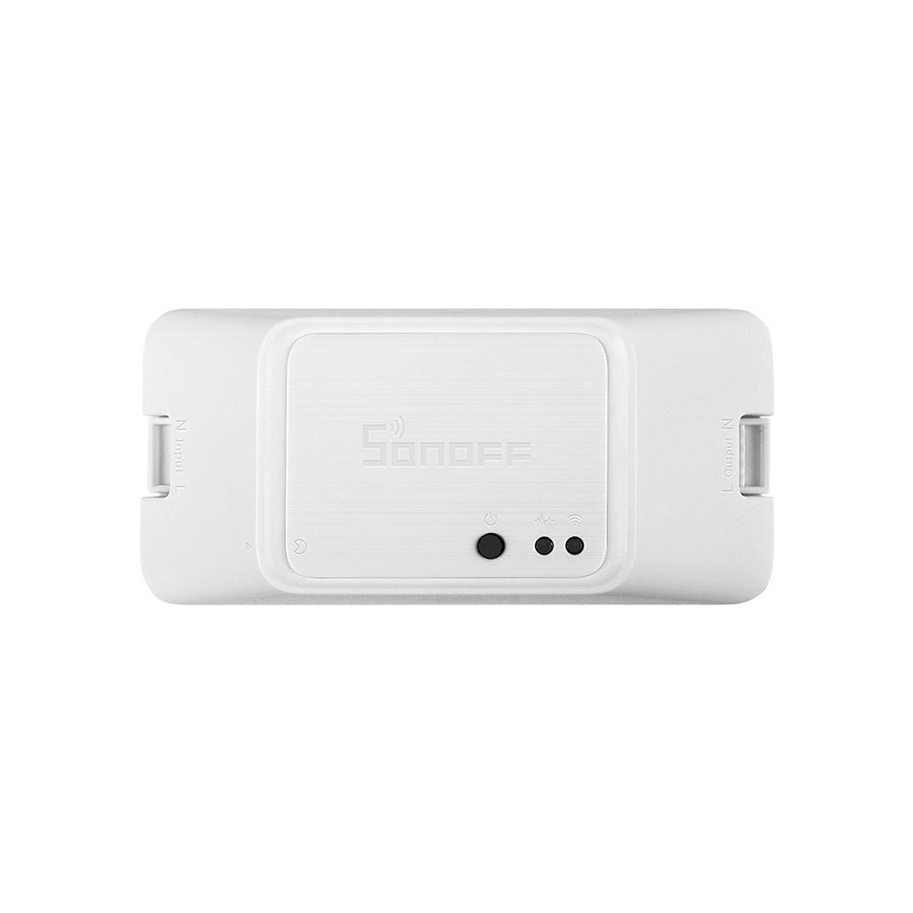 SONOFF® RF R3 ON/OFF WIFI Wireless Smart RF Switch Timer Supports DIY Mode 10A 2200W AC100-240V APP/433 RF/LAN/Voice Rem
