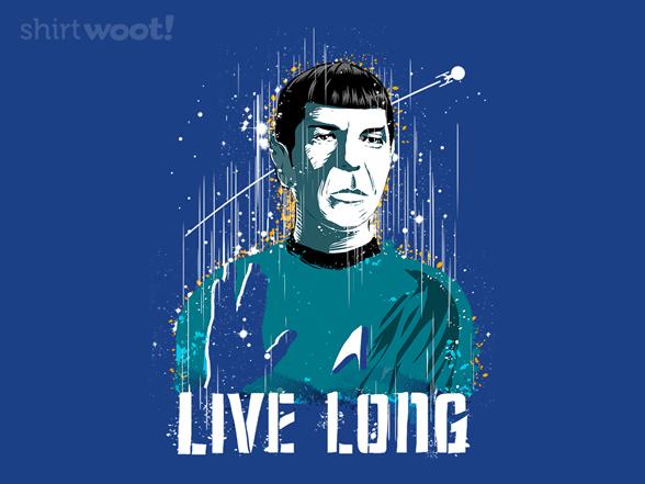 Long And Prosper T Shirt