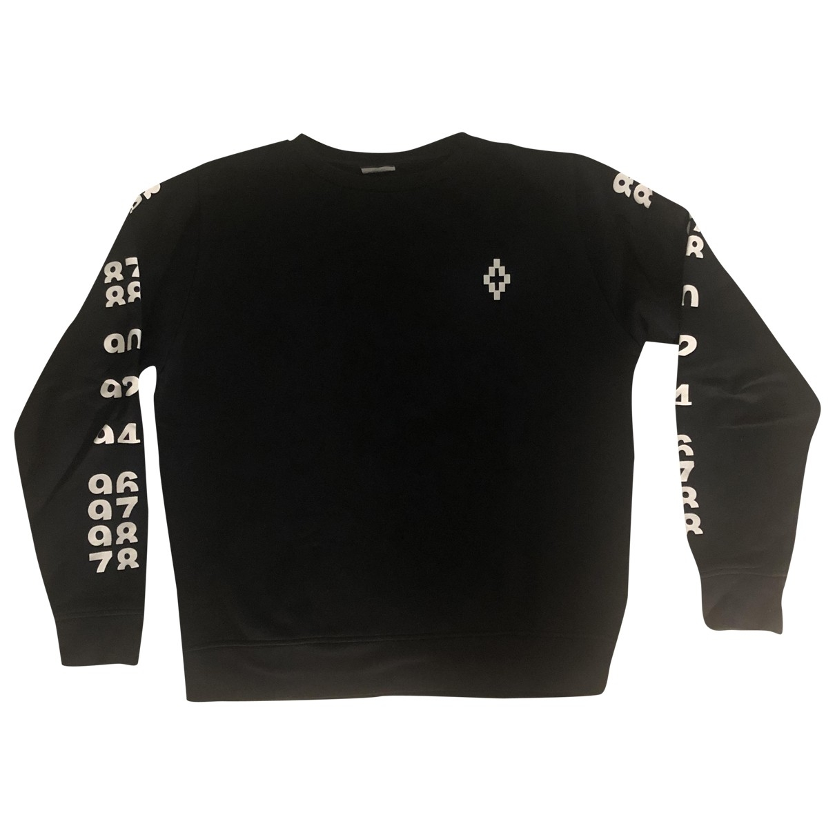 Marcelo Burlon \N Black Cotton Knitwear & Sweatshirts for Men S International