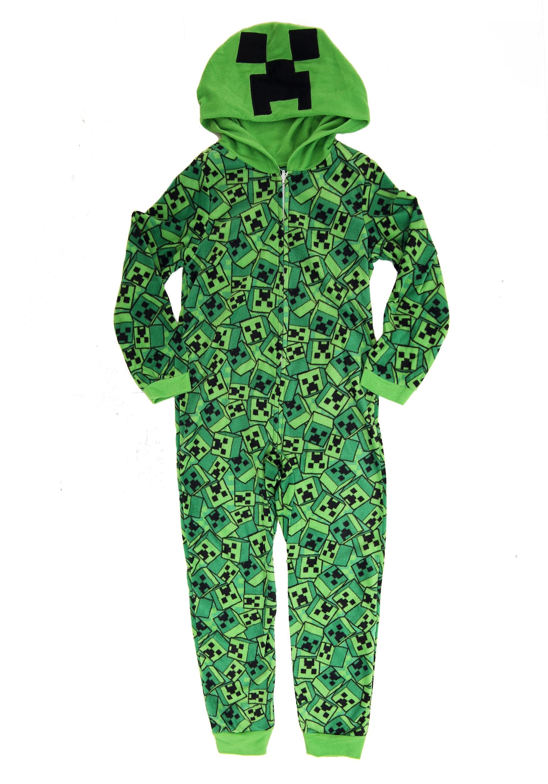 Minecraft Union Onesie Suit