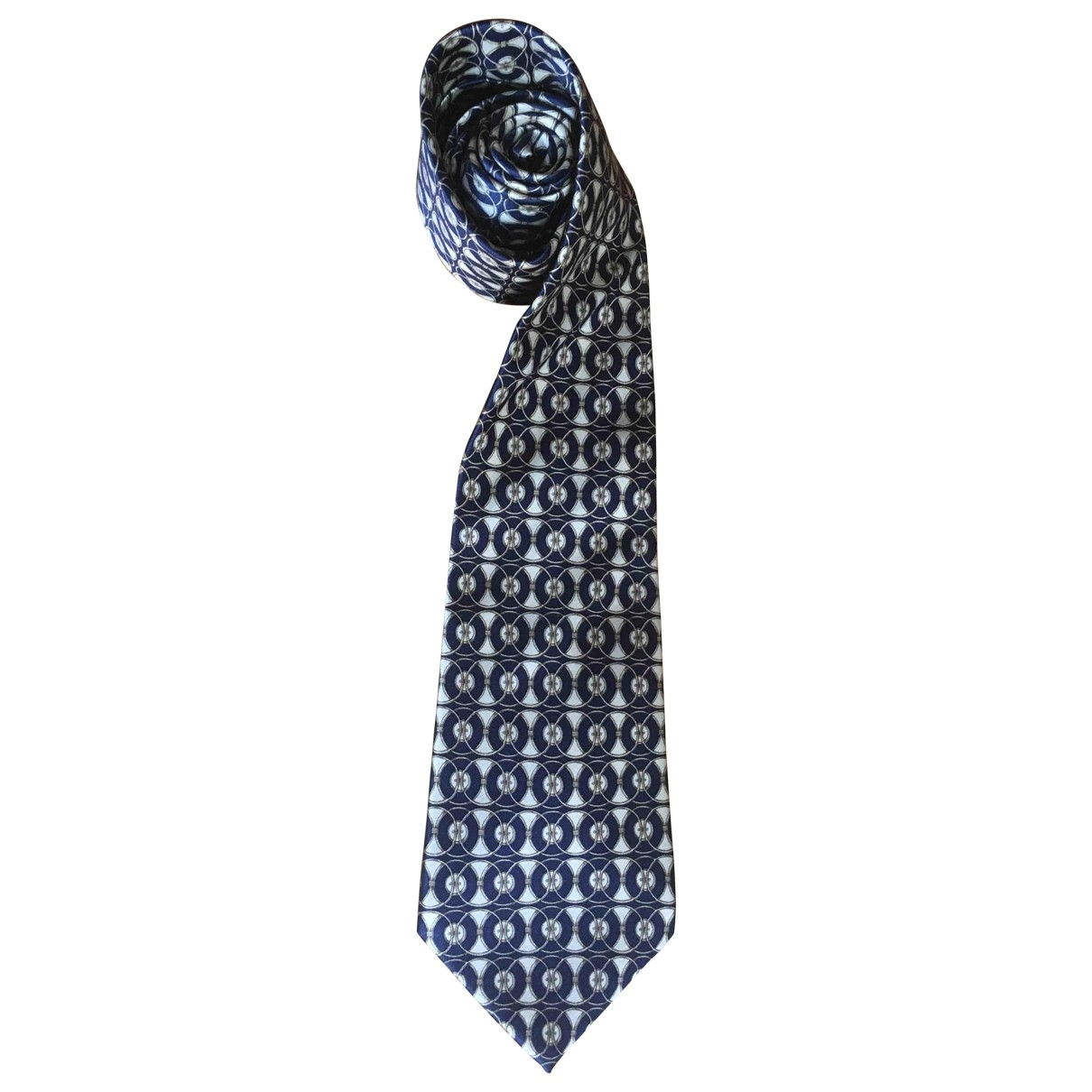 Lanvin \N Blue Silk Ties for Men \N