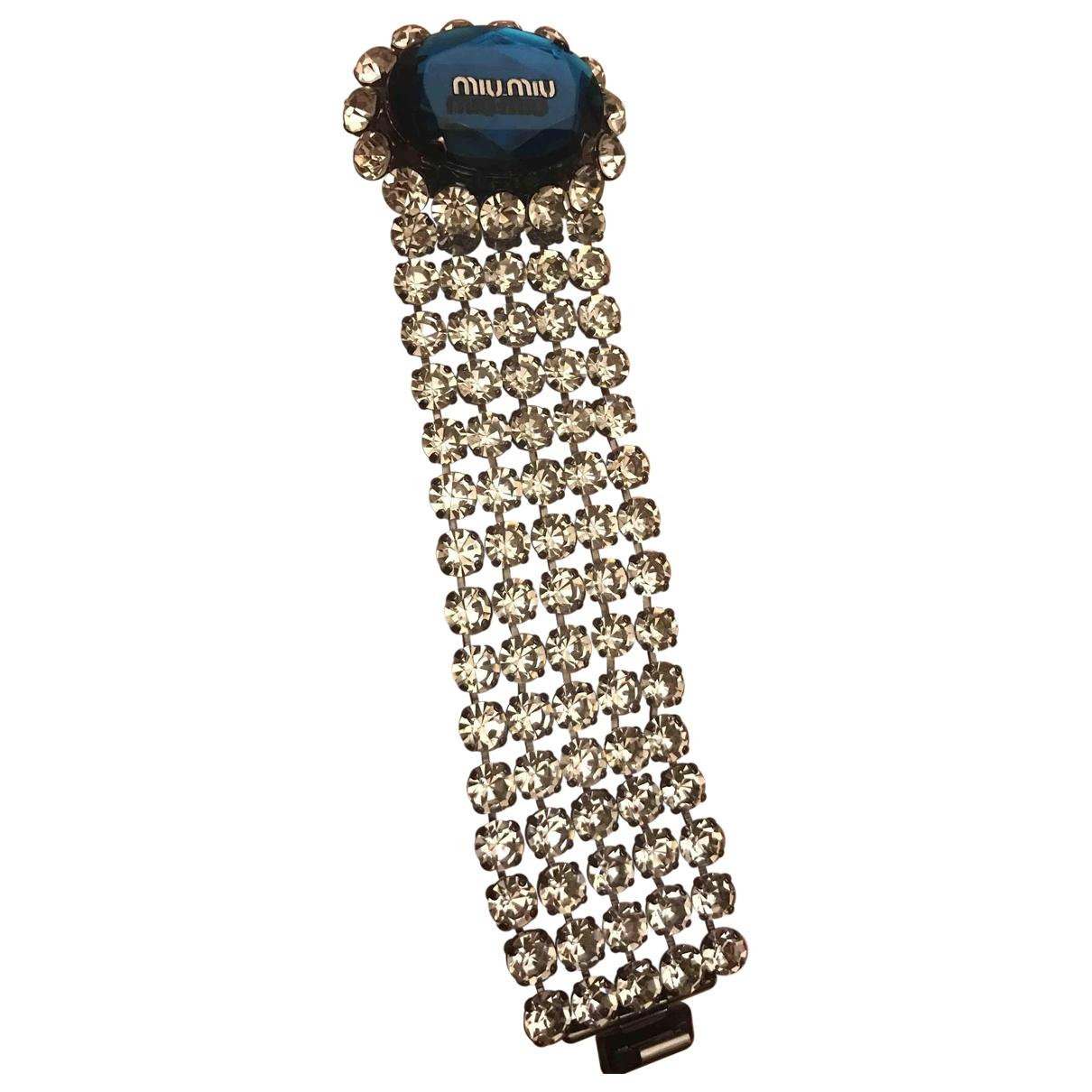 Miu Miu \N Turquoise Metal bracelet for Women \N