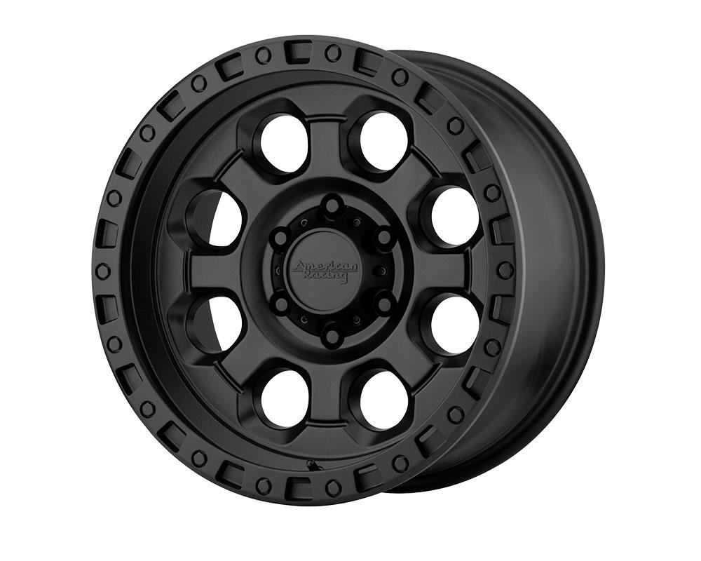 American Racing AR201 Wheel 18x9 6x6x139.7 +35mm Cast Iron Black
