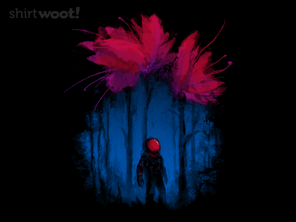 Spring On Another Planet T Shirt