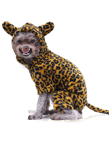 Milanoo Pet Halloween Costume Animal Golden Clothes Polyester Pet Supply