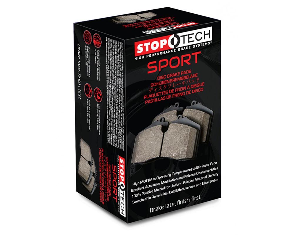 StopTech 309.0601 Sport Brake Pads with Shims/Hardware Front